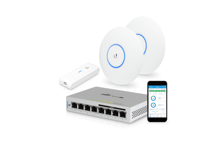 Ubiquiti UniFi WiFi-set