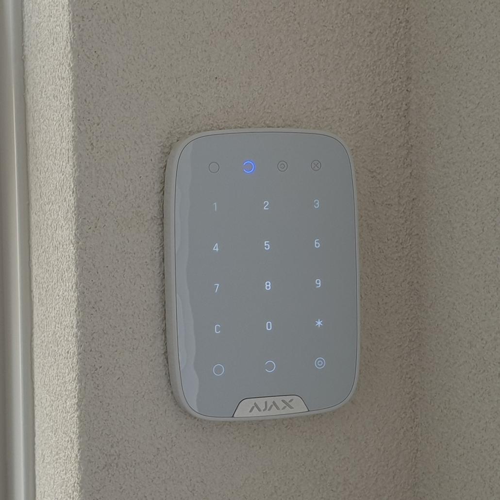 Bedieningspaneel ajax draadloos alarmsysteem - Berghem