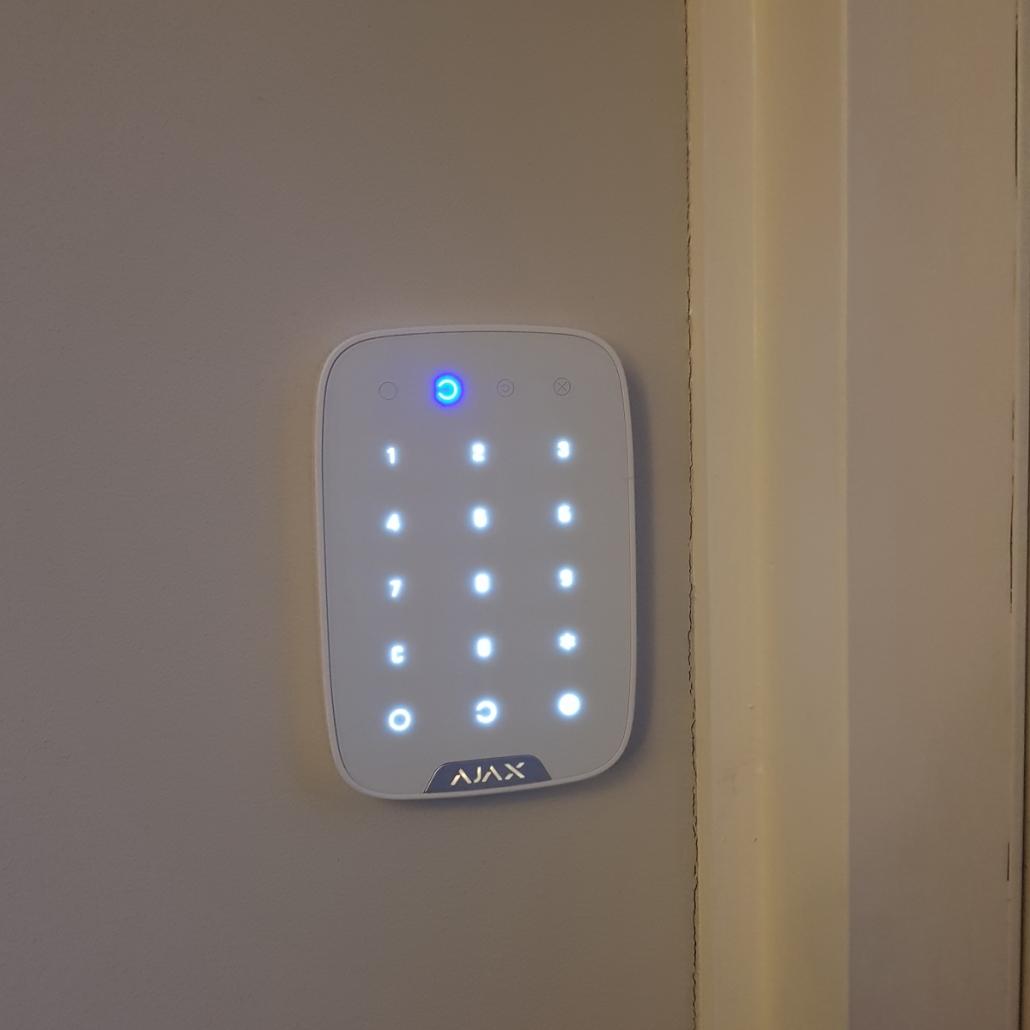 Bedieningspaneel draadloos alarmsysteem - Langenboom