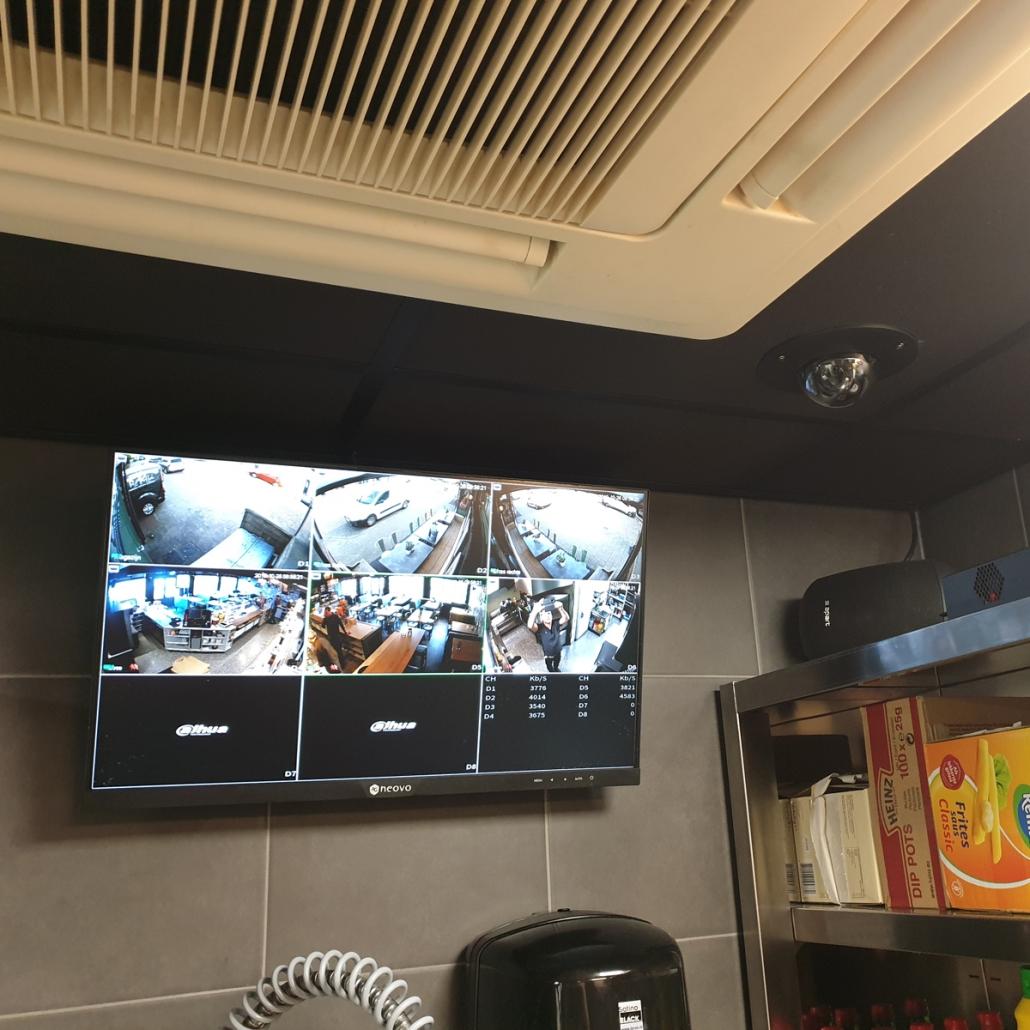 Dahua Camerabeveiliging Snackbar Peter Loeffen